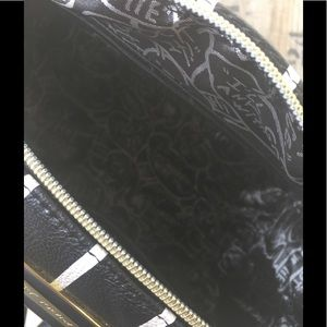 Betsey Johnson Bags - Betsey Johnson striped satchel.